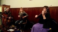 Playing Irish music for set dancing!  #irishmusic #fiddle #guitar #bodhran #setdancing #irishdance