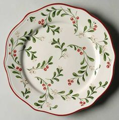 Your Favorite Brands Holiday Heirlooms Salad Plate