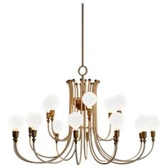 Mid-Century Modern, German 1950s, Huge Chandelier | From a unique collection of antique and modern chandeliers and pendants at https://www.1stdibs.com/furniture/lighting/chandeliers-pendant-lights/