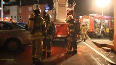 Feuer in Siegburg Kaldauen +OTon Einsatzleiter der FW