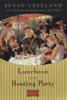 Luncheon of the Boating Party GREAT book about how Renoir painted this beautiful painting.  I have seen this  at The Phillips Collection Museum in Washington DC, and next time Retha and I go to Paris we are going to the little island where he painted!