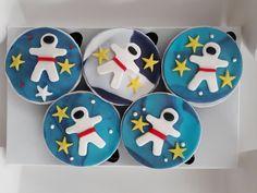 Astronot Cupcake ..