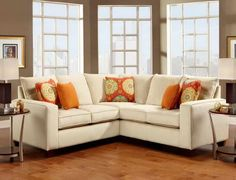 Sectional Sofas for Small Spaces: Sectional Sofas For Small Spaces With Decorative Pillows – Bloombety