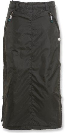 Skhoop Original Insulated Skirt $128   Long insulated skirt would rock in a hockey rink.