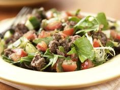 Buffalo Fiesta Salad With Fire-Roasted Salsa