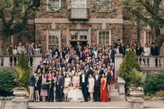 something similar with the whole wedding outside steam