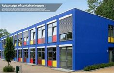 Expandable Mobile Office Containers / Shipping Container Buildings for School