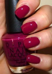 OPI Miami Beet. One of my Favorites!