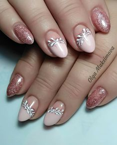 You are in the right place about french nails Here we offer you the most beautiful pictures about the bright nails you are looking for. Hair And Nail Salon, Hair And Nails, My Nails, Wedding Nails For Bride, Bride Nails, Spring Nails, Summer Nails, Cute Nails, Pretty Nails