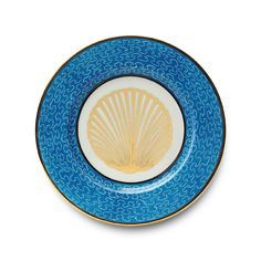 Porcelain Dinner Plate 'Mer Turquoise' by Alberto Pinto - Hand painted, gold, turquoise. Interior Design, Home Decor, Interior Styling, Home Inspiration, Home Styling, Interior Trends, Design Trends, Design Furniture, Interior Accessories, Design for your Home, Decorating Ideas, Interior Design Blog, Living, Styling, Design. http://whatiwouldbuy.com/PORCELAIN+DESIGN+PLATES+TABLEWARE+DINNERWARE