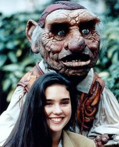 -Yes, should you need us, for any reason at all... -I don't know why, but every now and again in my life - for no reason at all - I need you. All of you! Sarah-Hoggle, Labyrinth (1986)