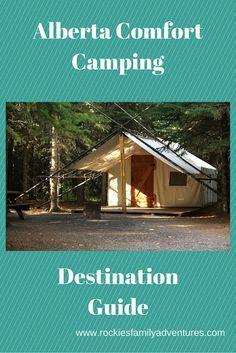 Family Adventures Kanadan Kalliovuorilla: Alberta Comfort Camping Destination…