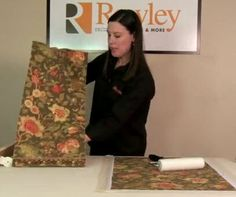 You can make your own custom fabric-covered roller shades to match the decor of any room! Pam also does research that cuts the cost of the kit price by 30%!