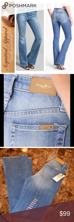 """{Joe's} jeans Heritage Vintage Reserve 36"""" inseam New with tags. Beautiful wash. Ultra rare heritage reserve. Long 35.5"""" inseam. Location 4. High rise. Joe's Jeans Jeans Flare & Wide Leg"""