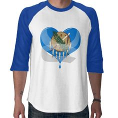 Oklahoma Bandaged Heart Tshirt by #Support_ Shipping to Grove, OK #supportoklahoma #oklahoma