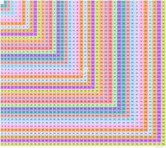 40×40 Multiplication Table