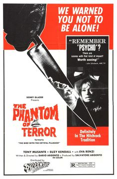 The Bird with the Crystal Plumage ( The Phantom of Terror )