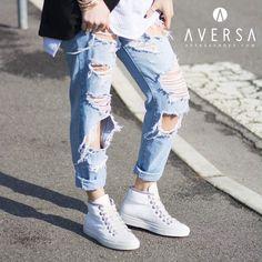 Kammi Sneakers pelle bianca