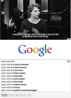 It's a rare thing when T-Swift is in love. Ha but I still love her