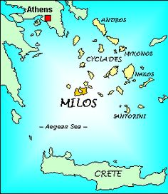 Information about Milos Island, Greece