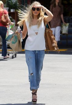 Goldsign Mr. Right Ripped Jean as seen on Leann Rimes - designed by GOLDSIGN