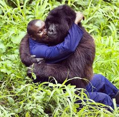 What a hug!