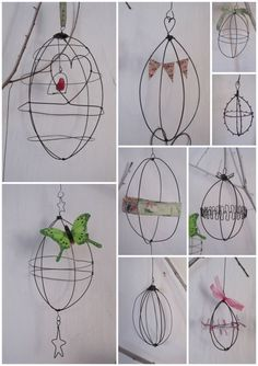 Wire birdcage tutorial