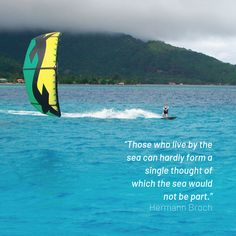 Do we ever leave the water? Surfing Quotes, Strong Wind, Kitesurfing, Time Out, Surfboard, Waves, Ocean, Inspiration