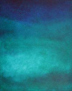 "Saatchi Art Artist Stanko Ropić; Painting, ""Turqouise Flow Colorfield"" #art"