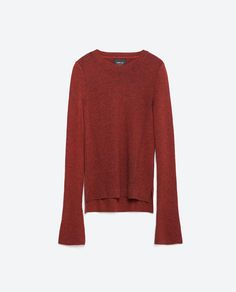 Image 8 of CREW NECK SWEATER from Zara