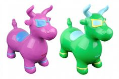 Benny the Jumping Bull | Baby Smyles #jumping #toy #balance #kids #children #fun color #kids