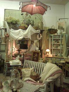 Debi Bock's Vintage Lilli booth at M Antiques in Monroe, WA