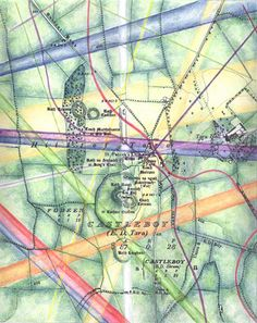 Tara Ireland, the megalithic tomb called the Mound of the Hostages is the oldest monument on the Hill of Tara dating back to BC Tara became the seat of the High Kings of Celtic Ireland. Ley Lines, Ireland Travel, Sacred Geometry, Astronomy, Fields, Celtic, Spirituality, Earth, Spaces
