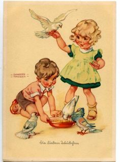 Illustrator |  Lungers Hausen, German (1900- 1991)