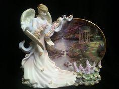 Thomas Kinkade First Issue Heaven's Grace Garden of Prayer B1543 Collectible