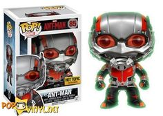 Glow in the Dark, Hot Topic Exclusive - marvel ant man pop vinyl funko
