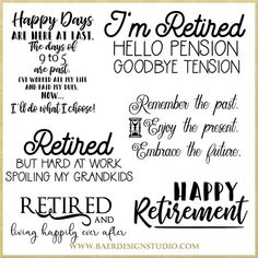 retirement tips,retirement ideas,retirement planning,retirement goals Retirement Quotes Inspirational, Happy Retirement Quotes, Retirement Party Gifts, Teacher Retirement, Early Retirement, Retirement Ideas, Diy Retirement Cards, Retirement Sentiments, Retirement Party Centerpieces