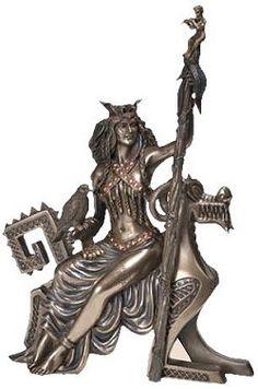 "10"" Frigga Norse Goddess $55"
