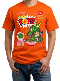 $179.00 Playera Cereal Dragon Ball Pops!!! - Comprar en Jinx