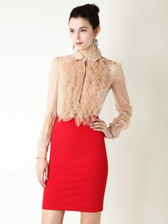 This blouse is amazing, too bad I don't have $949. hahaha