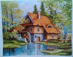 Hasil gambar untuk cottages a punto de cruz