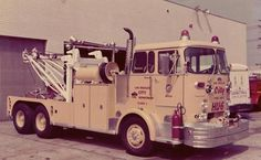 Old Fire Truck Wrecker