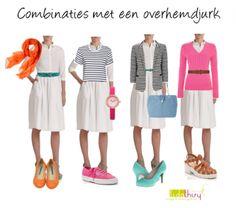 Het is gemakkelijk combineren met een #overhemdjurk | www.lidathiry.nl | #shirtdress