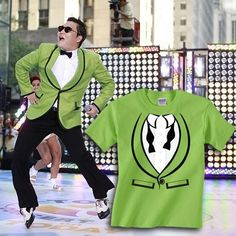 Gangnam Style Lime Tuxedo Tshirt Oppa Shamy Get it, girl! Oppa Gangnam Style, Parody Videos, Shirt Ideas, Tuxedo, Passion For Fashion, Drinking, Amy, My Style, T Shirt