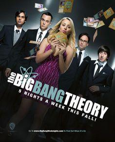 3. Big Bang. Periodo de producción: (2007 - hoy). Reparto: Jim Parsons, Johnny Galecki. Género: Comedia.