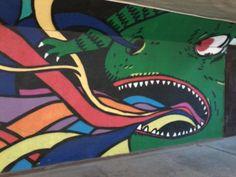 Street Art in Kraków #street #art #color #colorful