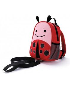 Skip Hop Ladybug Zoo-Let Mini Backpack with Rein