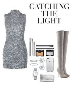"""""""Untitled #104"""" by thesparklegirls ❤ liked on Polyvore featuring Harrods, Balmain, Loeffler Randall, Longines, Blue Nile and NARS Cosmetics"""