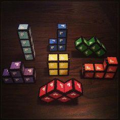 3D Tetris perler beads by radbeads                                                                                                                                                     More