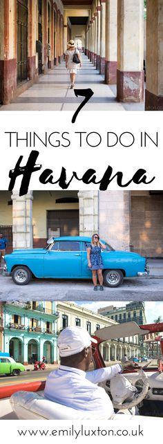 My round up of the very best things to do in Havana, Cuba. This is everything you can't miss for the perfect Havana experience  #havana#cuba#traveltips#cubatravel
